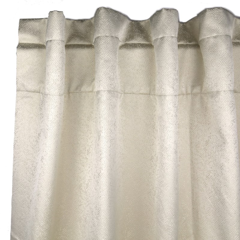 imprint curtain panel - pearl