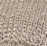knitted silk pillow