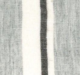 linen wool stripe sham