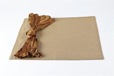silk texture placemats - set of 4