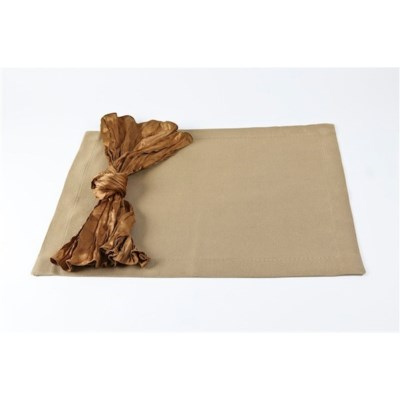 silk texture placemats - set of 4