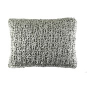 ribbon knit pillow