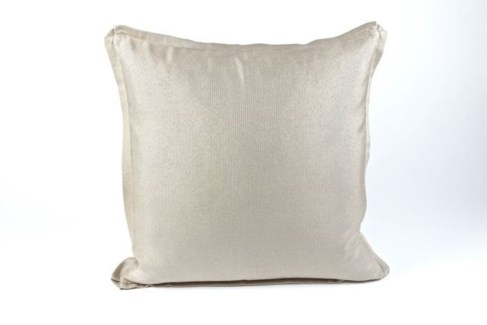 silk texture pillow with flange