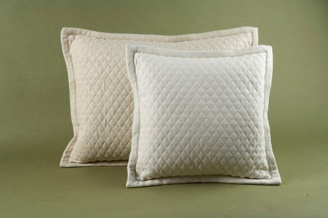 basketweave quilt pillow