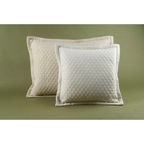 basketweave quilt pillow