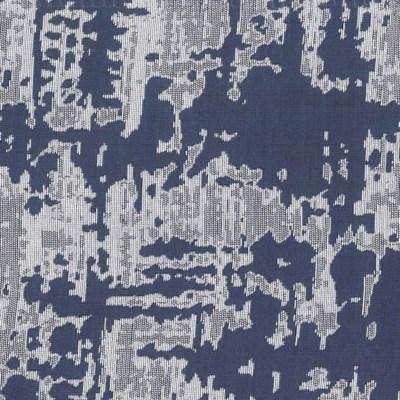 scratch duvet set - navy/silver