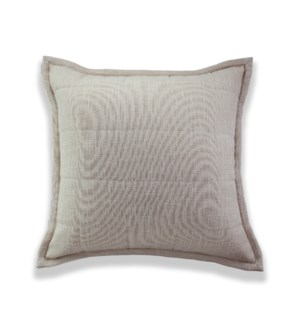 filament quilted euro sham