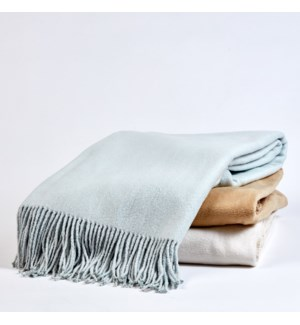 silk fleece throw