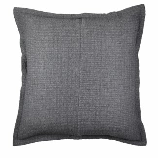 pebble coverlet set - charcoal