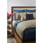 single diamond coverlet set - teal
