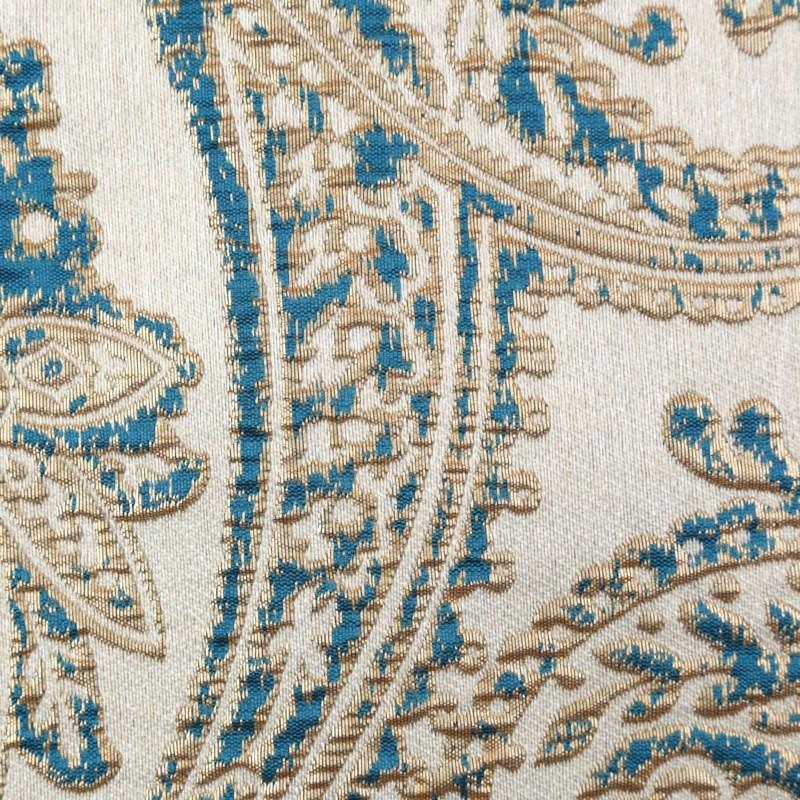 arabesque duvet set - teal