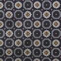 foulard duvet set - black