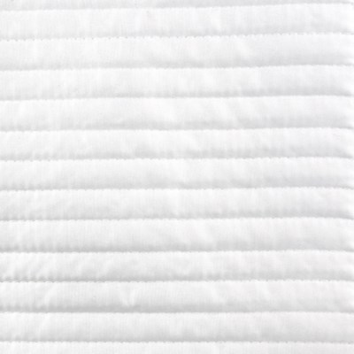 linea coverlet set - white