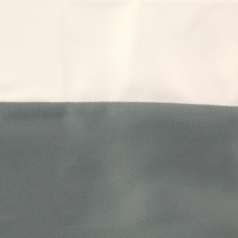 motif duvet set - ivory/seablue