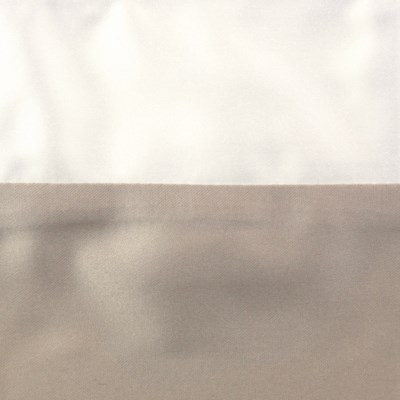 motif duvet set - taupe/ivory