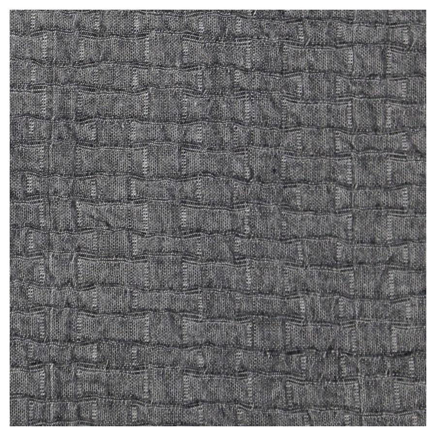 pebble coverlet set - charcoal