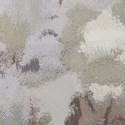 smokey floral duvet set - taupe