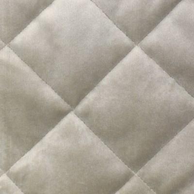 velvet coverlet set - taupe