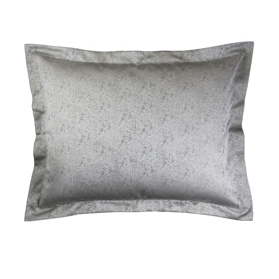 imprint duvet set - pewter