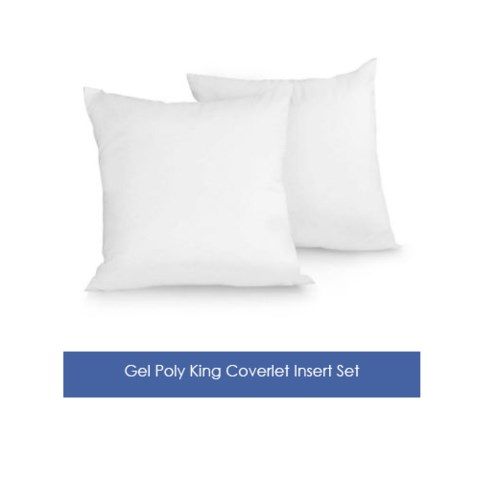 art of home display quality coverlet insert set