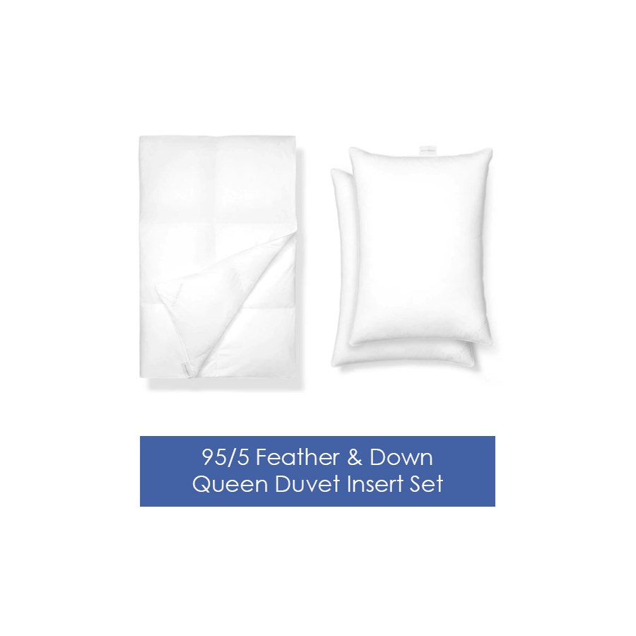 art of home luxe duvet insert set