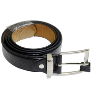 100CT MEN'S BELT - BLACK #1