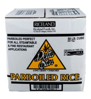 RICELAND/PARBOILED RICE #7554 BOX DELTA