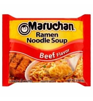MARUCHAN #0212 BEEF RAMEN NOODLE SOUP