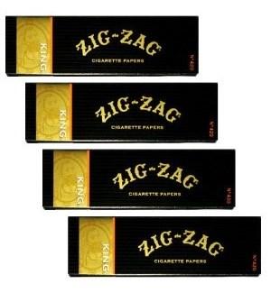 ZIG ZAG KING SIZE BLACK BOX