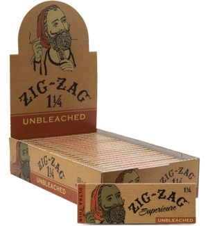 ZIG ZAG UNBLEACHED CIG PAPERS