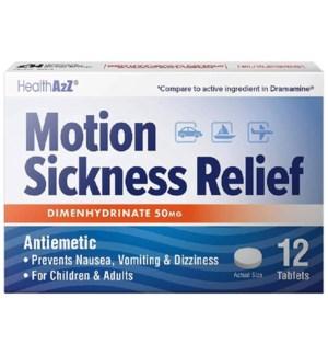 MED #370 MOTION SICKNESS REL