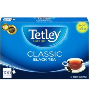 TETLEY CLASSIC BLACK TEA BAGS #05108