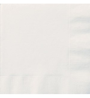 UQ #3102 WHITE LUNCHEON NAPKINS