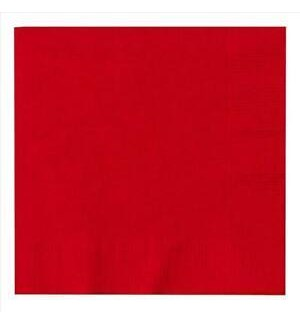 UQ #3122 LUNCHEON NAPKINS/RED