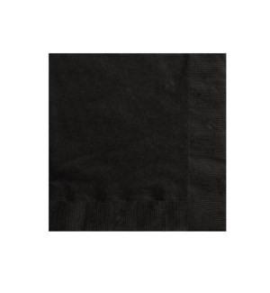 UQ #3201 BEVARAGE NAPKINS/BLACK