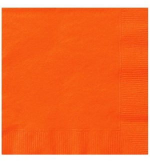 UQ #3222 LUNCHEON NAPKINS/ORANGE