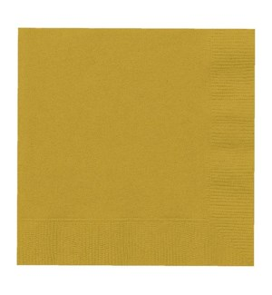 UQ #3322 LUNCHEON NAPKINS/GOLD
