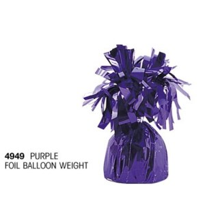BALLOON WEIGHT #4949 PURPLE