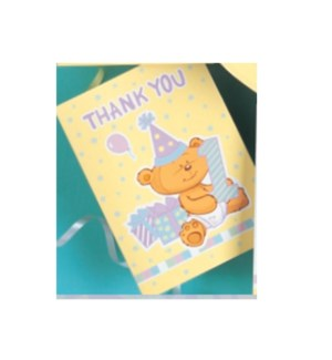 THANK YOU CARDS #12758 BABY SHOWER