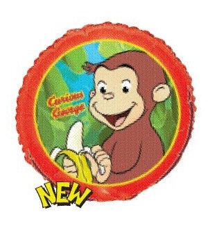 BALLOON #L 15870 CURIOUS GEORGE