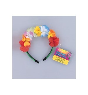 HAIR BAND #19179 LUAU FLOWER