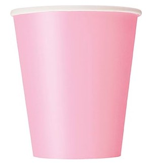 UQ #30883 9OZ PAPER CUPS/LOVELY PINK