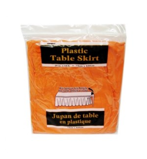 TABLE SKIRT #50049 PLASTIC