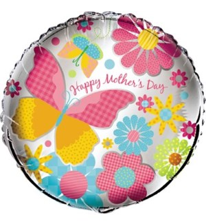 MOM DAY BALLOON #52150 HAPPY MOTHERS