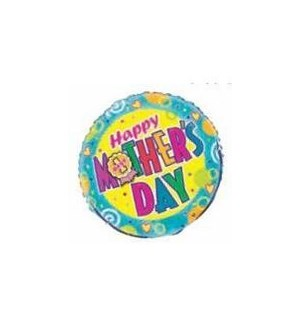 MOM DAY BALLOON #52199 HAPPY MOTHERS DAY