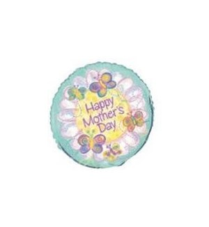 MOM DAY BALLOON #52204 HAPPY MOTHERS