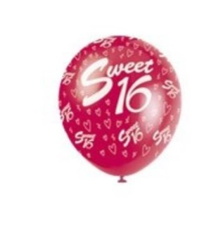 BALLOON #52254 SWEET 16