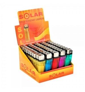 50PK LIGHTERS -SOLAR