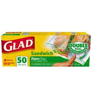 GLAD #57263 SANDWICH BAGS