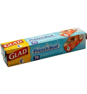 GLAD #78124 PLASTIC WRAP, PRESS'N SEAL